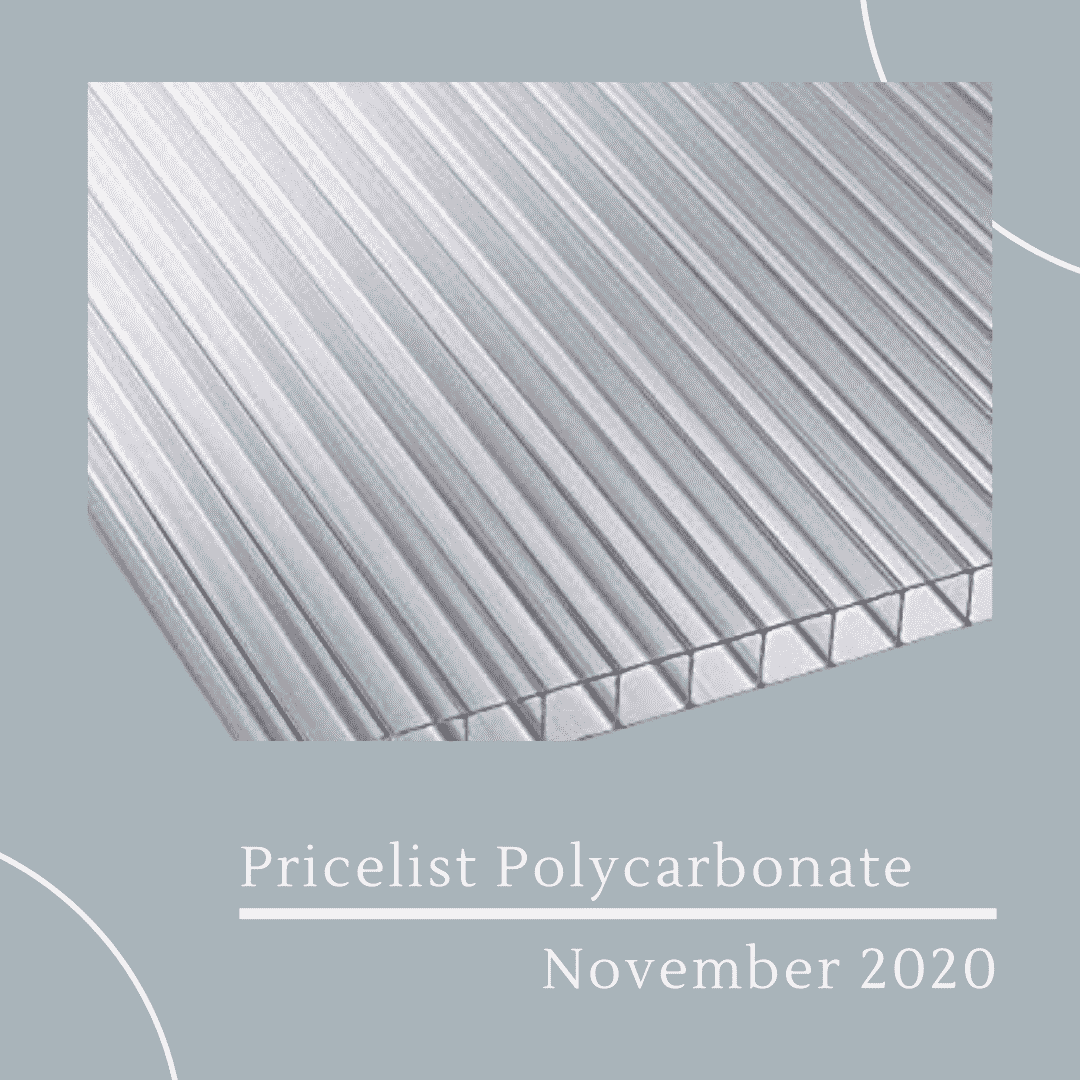 Pricelist Polycarbonate November 2020
